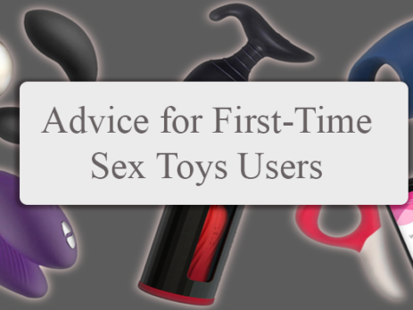 advice on sex toys for first time users
